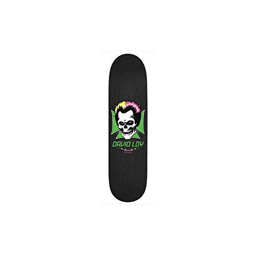 Vogelhuisje Loy Skull Pro Skateboard Deck - Zwart 8.375