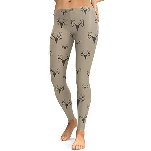 YUJIAKU Yoga broek/strak/Abdominale oefening running yoga leggings Digitale afdrukken leggings grijs groen leren elastische strakke vrouwen leggings