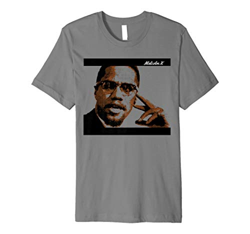 Malcolm Civil Rights America X Premium T-Shirt