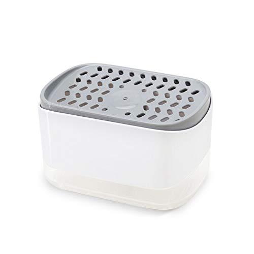 Soffria Dishwashing Soap Dispenser Pump Dish Soap Dispense for Kitchen - Counter Top Sink Dispenser - Instant Refill, Durable(White)