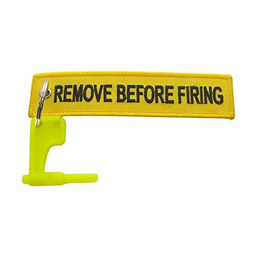 [Sicurezza per la sicurezza delle cadute]: utilizzate questa bandiera di sicurezza per la camera di tiro del vostro fucile per proteggervi voi stessi, amici e colleghi. Questo dispositivo di sicurezza per armi è un chiaro segno per tutti intorno a vo...