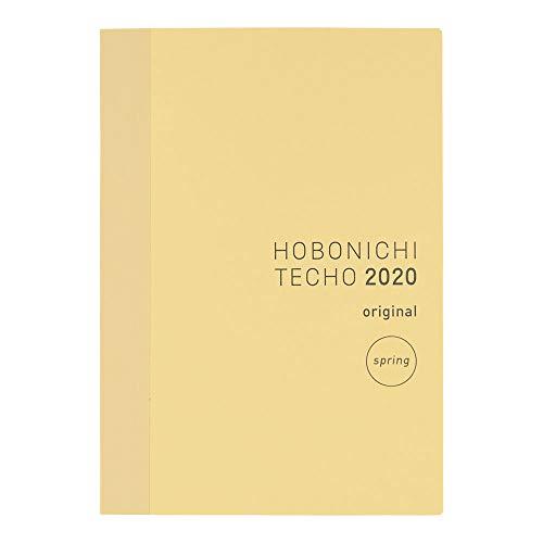 ほぼ日手帳 2020 手帳本体 オリジナル(A6サイズ) 2020年4月はじまり 月曜はじまり 1日1ページ