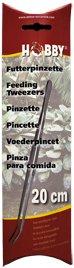 Hobby Pflanzen Pinzette, gebogen, 20 cm, SB Aquarium-, Hobby-, Futter Pinzette
