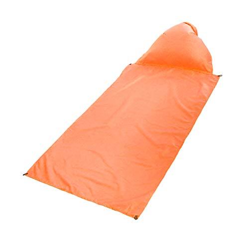 perfeclan Kit de Tapis de Sol Auto-gonflant Camping Tapis de Couchage Gonflable Ultraléger Matelas Autogonflants Pad pour Randonnée Camping Plage Voyage - Orange, 85x145cm