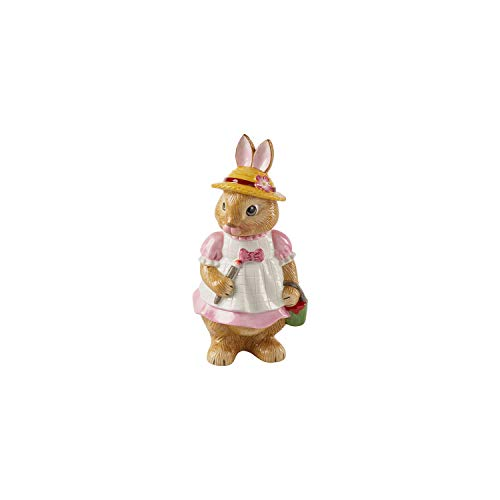 Villeroy & Boch Bunny Tales Anna Grande Figura per la Tavola, Porcellana, Premium, Multicolore