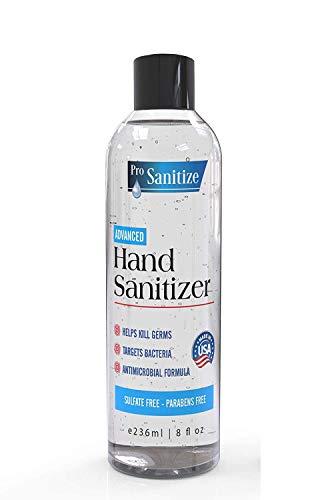 Waterless Hand Disinfectant Cleaning Gel - 2-Pk 8 fl oz Pump...