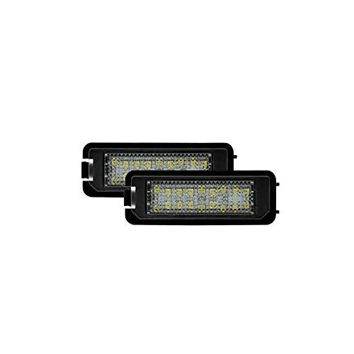AutoStyle DL n05Feux de Nummernschild LED auf mesure-//Seat// verschiedenen, black