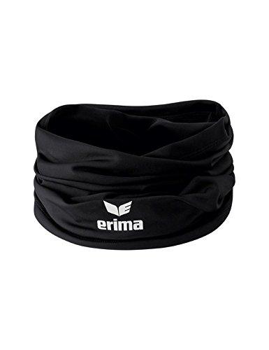 Erima Nackenwärmer Schal, schwarz, One Size