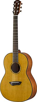 Yamaha CSF1M VN - Guitarra acústica (tamaño VN, incluye bolsa rígida, estilo vintage, color natural