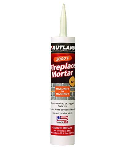 Rutland Products (Buff Rutland Fireplace Mortar 10.3 Oz Cartridge
