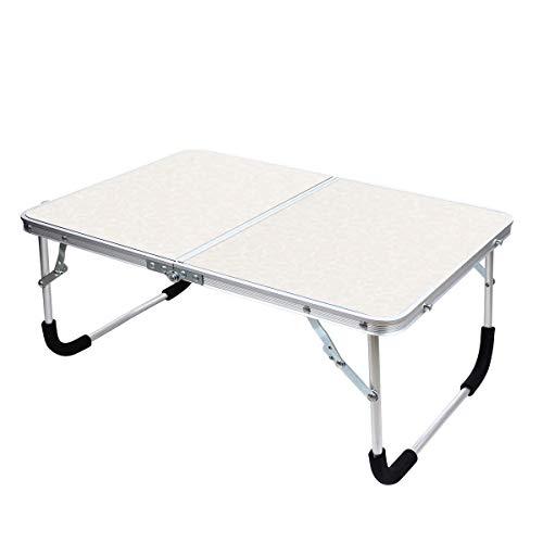 YOLER アウトドア 折りたたみテーブル キャンプ コンパクト ミニテーブル ピクニック 車中泊 (ホワイト)