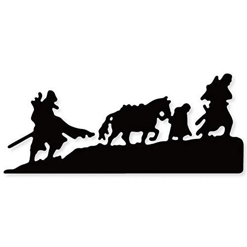 Doe-het-zelf stansvorm groep van man paard frame metaal stansvormen sjabloon voor doe-het-zelvers scrapbooking papier kaart decor handwerk sterft reliëfstansen