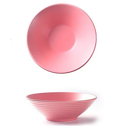 Japanische Ramenschale 700ml, Keamik Bunt Ramenschüssel Salatebowl Suppenschalen, Kreativität Porzellan Ramen Bowl Nuddelschale für Müslis Udon Soba