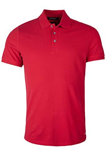 Roy Robson Herren Poloshirt aus Baumwolle-Regular Fit Polo, Pastellrot, X-Large Uomo