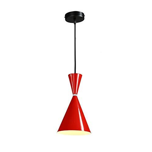 Pendelleuchte Kronleuchter Lampe Weinglas Modelliereisen Nordic Modern Minimalist Deckenleuchte Esszimmer Schlafzimmer Bar Einzelkopf Seil