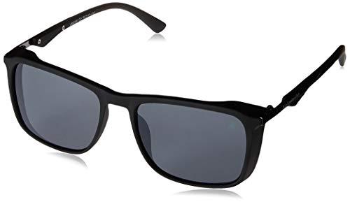 Óculos de Sol Polo London Club lente com Proteção UVA/UVB - Kit acompanha com estojo e flanela, Preto, Único