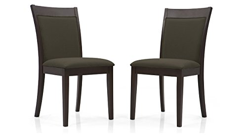Urban Ladder Dalla Dining Chairs - Set of 2 (Colour : Grey)