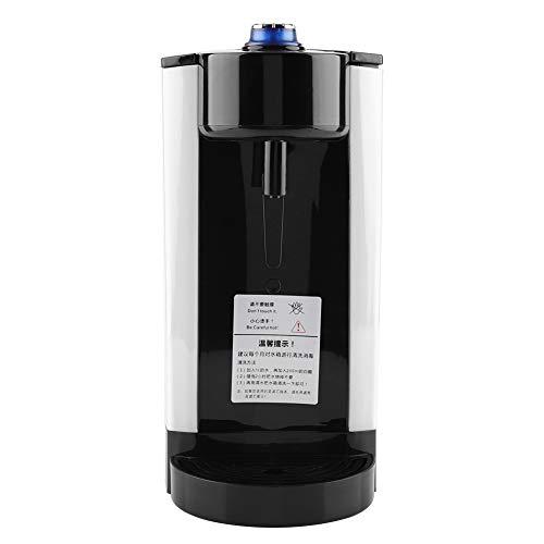 Calentador de caldera de agua electrico Calentador de agua instantaneo Dispensador de hervidor de agua 3L(white)