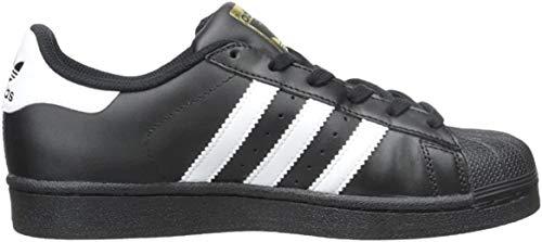 adidas Originals Superstar Foundation J, Scarpe da Ginnastica Unisex-Bambini, Nucleo Nero Bianco E Nero, 40 EU