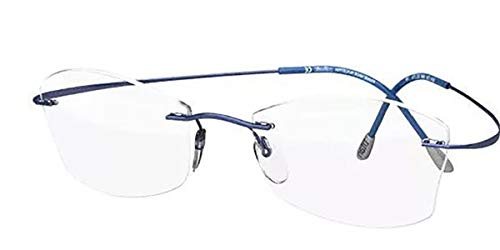 Eyeglasses Silhouette TMA Must Collection 2017 (5515) 4640 Indigo Blue 52/17/1