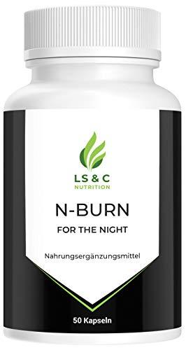 N-Burn | Fatburner für die Nacht | Abnehmen schnell und effektiv | 50 Kapseln
