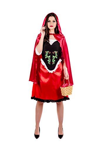 Fun Shack Roja Caperucita Roja Disfraz para Mujeres - XL