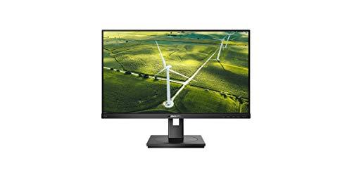 Philips 272B1G - 27 Zoll FHD Green Monitor, höhenverstellbar (1920x1080, 75 Hz, VGA, DVI, HDMI, DisplayPort, USB Hub) schwarz