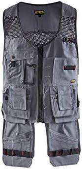 Blaklader 310013709499XL Craftman Vest, X-Large, Grey/Black