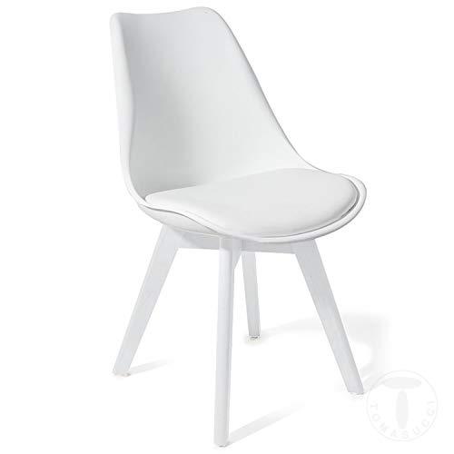 Tomasucci Sedia Kiki Evo White Set 4 sedie