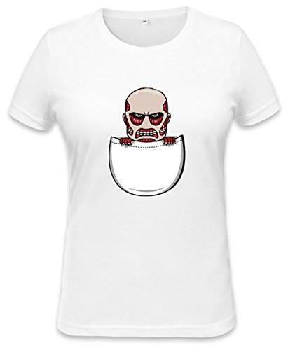 Pocket Titan Womens T-shirt X-Large