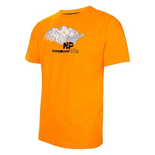 Trangoworld NP-Mountain T-Shirt, Homme S Jaune doré/Noir