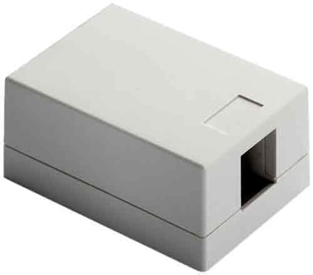 赤また明日ねマントルOnQ / Legrand WP3501WH Surface Mount Box 1Port, White by Legrand-On-Q