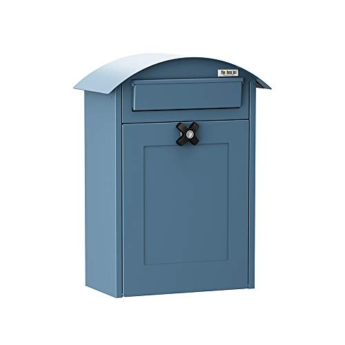 Flexbox brievenbus Albertina 9301 blauw