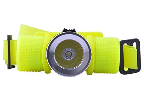 lliang Lampe Frontale LED Underwater Waterproof Diving Headlamp Headlight Dive Flashlight Head Light Lamp Torche