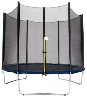 WDNMD Outdoor Garden Trampoline With Safety Net Enclosure, Cover & Step Ladder 3 Sizes(Size:6 Ft)