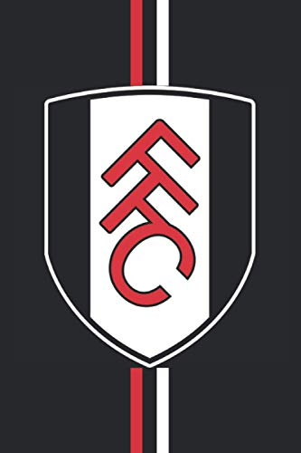 FFC: Fulham FC Notebook high quality size 6x9 100 page for fans of Fulham FC