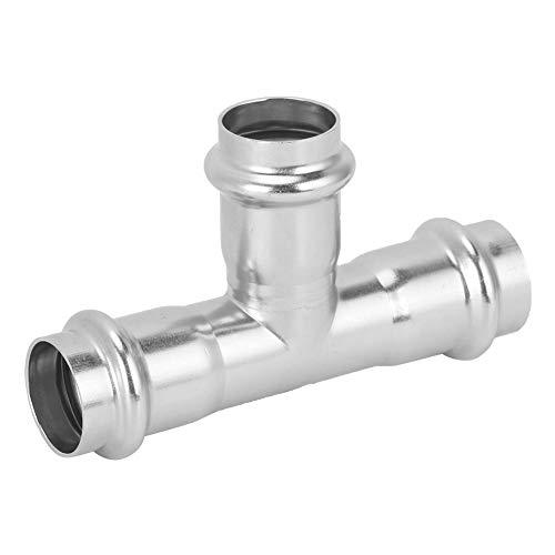 Worii Wasserrohranschlüsse, einfach zu installierender gerader T-Stecker, verwendbarer Rohrverbinder für den Gebrauch, Badezimmerwasser