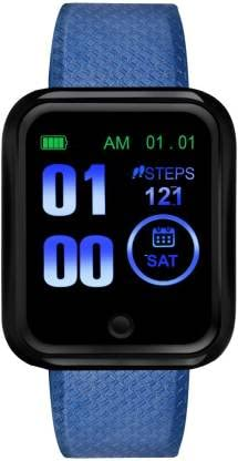 Tokdis Smart Band 3.2 – Fitness Band, 1.4-inch HD Color Display, USB Charging, 3 Days Battery Life, Activity Tracker, Men's and Women's Health Tracking, Blue Strap
