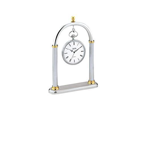 Taschenuhrständer – Bicolor-Gestaltung – Präsentiert Ihre Taschenuhr auf eine wirkungsvolle Weise – Am besten für goldene als auch Silberne Uhren geeignet – Ohne Uhr – C336025