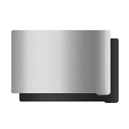 WZCXYX Impresora 3D Placa De Acero De Resorte De Curado por Luz LCD Plataforma De Resina Fotosensible Película De Acero Magnética Accesorios Generales(Size:140 * 84MM)