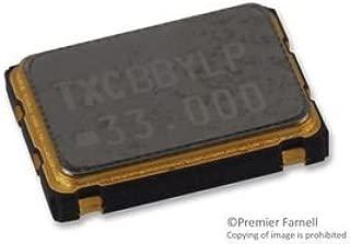 TXC 7W-33.000MBC-T OSCILLATOR, CMOS, 33MHZ, 3.3V, SMD