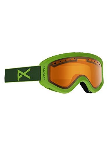 Anon Tracker, Maschere da Snowboard Bambino, Green/Amber
