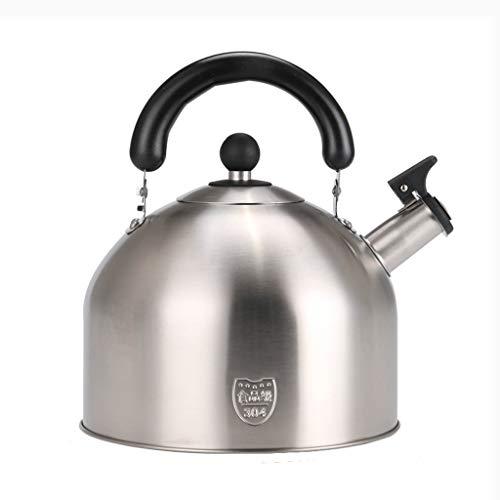 LCFF Bouilloire de santé de sifflet automatique de cuisinière à gaz 304 (Capacité : 5L)