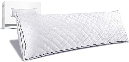 Luxury Full Body Pillow, Polyester Bed Pillows,Adjustable Soft Body Pillow,Suitable for Various Postures Sleeping Pillows, 20 Inches x 54 Inches...