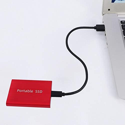 SDFLKAE Unidad de estado sólido, transmisión de datos de alta velocidad para PC USB3.0 recinto unidad de estado sólido portátil para Windows 10, Windows 8, Windows 7