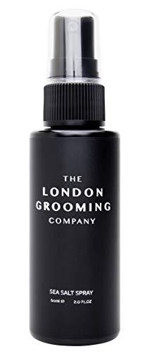 The London Grooming Company Spray Texturizante para Hombres, Producto de Cabello Basado en Agua para Textura y Volumen - 60 ml / 2 fl oz - Aroma de Madera de Laúd Árabe