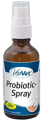 cdVet Naturprodukte VeaVet Probiotic-Spray 20 ml - Hund, Katze - Pflegespray - bei pilz- und keimgefährdeten Hautstellen - Schutz - gestresste + wunde Haut - Bakterien - gesund - Wohlbefinden -