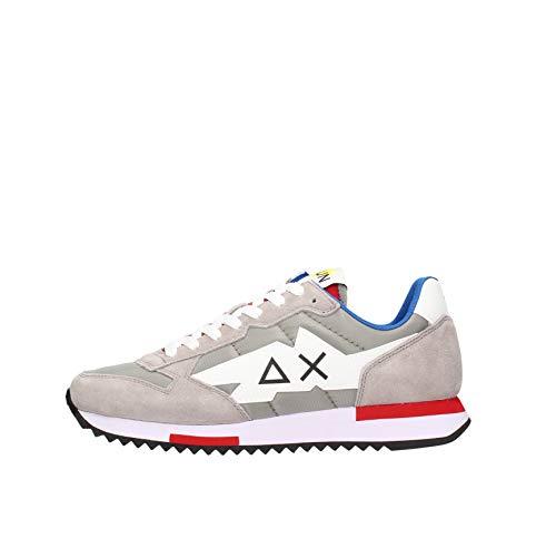 SUN 68 Z31118 Scarpe Uomo Sneakers Sportive Grigie (Numeric_44)