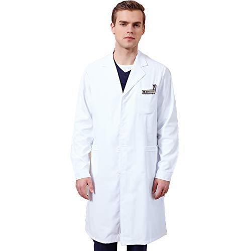 Matchwill Bata de Laboratorio/MédicoTrabajo Abrigo, Mujeres,Niños, Niñas y Hombres, Enfermera, Unisex Vestido...