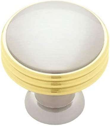 Japan Maker New TRS-style Pn1035c-pbn-c 1.38 in. brassnickel knob Free shipping anywhere in the nation Mod 671 ring